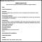 Printable General CV Template