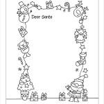 Printable Santa Letter Template
