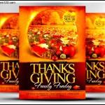 Printable Thanksgiving Party Invitation