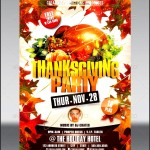 Printable Thanksgiving Party Invitations