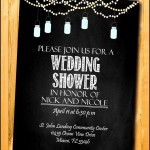 Printable Wedding Shower invitation Template