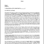 Probationary Employee Termination Letter Template