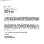 Professional Apology Letter Download
