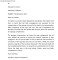 Professional Business Letter Format Example