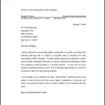 Professional Cover Letter for Accounting Job Word Template Free Download
