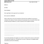 Professional Legal Notice Letter Template Download
