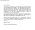 Professional Letter Format Sample