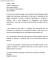 Professional MBA Admission Cover Letter