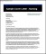 Professional Nursing Cover Letter Free PDF Template