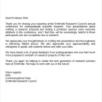 Professional Thank You Letter for Internship