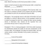 Proper Business Letter Format