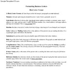 Proper Business Letter Format PDF