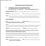 Request For Release Of Information Form