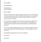 Request for Proposal Cover Letter Template MS Word Sample