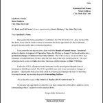 Residential Lease Termination Letter PDF Format Download