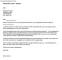 Resignation Letter Short Notice PDF