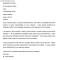Resignation Letter Word