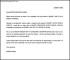 Resignation Shorten Notice Letter Sample Free