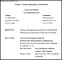 Resume Sample Internship