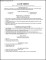 Resume Template Gray Timeless