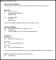 Resume Template for Tutoring Job Sample