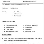 Resume for High School Students
