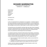 Retail Employement Cover Letter PDF Template Free Download