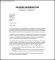 Retail Job General Cover Letter PDF Template Free Download