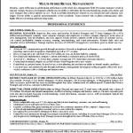 Retail Management Resume Sample