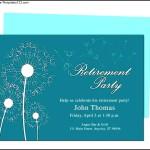 Retirement Invitation Template Download