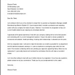 Retirement Letter of Resignation Template Word Format