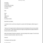 Retirement Notice Letter to Employer Free Word Doc