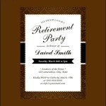 Retirement Party Invitation Card