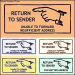 Return Address Label Template