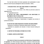 Rule Book on Internal Organization HR Rule Template