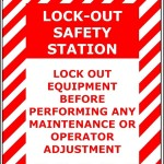 Safety Lockout Sign Template