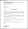 Salary Transfer Letter Format Template Free