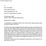 Sales Inquiry Letter