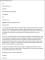 Sales Job Resignation Letter