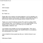 Sample Appreciation Letter to Boss