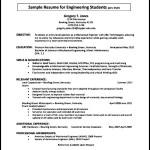 Sample Automobile Resume Template