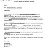 Sample Bank Reference Letter