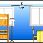 Sample Bedroom Elevation Template