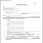 Sample Blank Letter of Intent Real Estate Lease Download