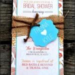 Sample Bridal Shower Invitation Template Format