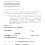 Sample Business Letter of Intent to Lease PDF Format Download