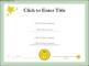 Sample Certificate Template