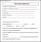 Sample Child Travel Consent Form
