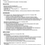Sample College Student Resume