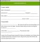 Sample Commercial Proposal Form